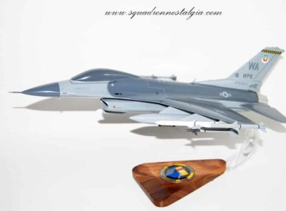 16th Weapons Squadron F-16 Model