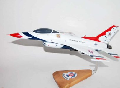 United States Air Force Thunderbirds F-16 Model