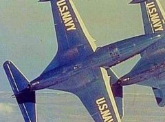 Blue Angels F-9 Panther