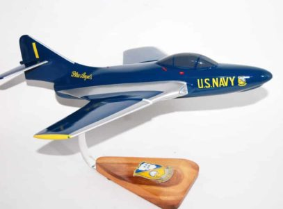 Blue Angels F-9 Cougar Model