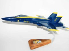 Blue Angels F/A-18 Hornet Model