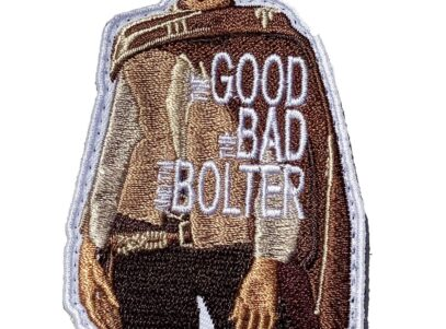 CQ Det The Good, The Bad and the Bolter Patch – Hook and Loop