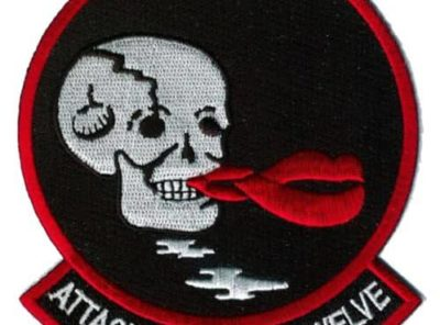 VA-12 Flying Ubangis Squadron Patch