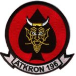 VA-196 Main Battery Squadron Patch