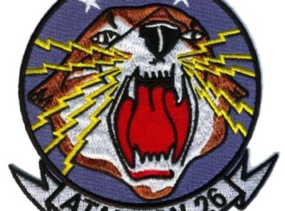 VA-26 Skylaunchers Squadron Patch