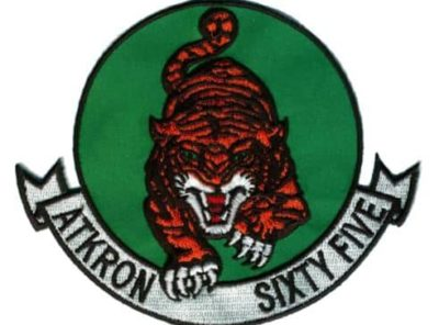 VA-65 Tigers Squadron Patch