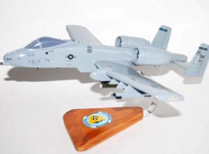 354th Fighter Squadron Bulldogs A-10 Model