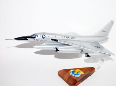 43rd Bombardment Wing B-58 Hustler Model