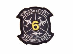 VT-6 Shooters Squadron Patch – Hook and Loop