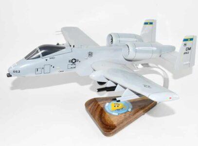 354th Fighter Squadron Bulldogs A-10 Model