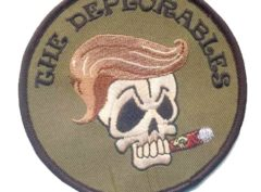 Deplorables green Patch - 3.5''