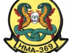 HMA-369 Gunfighters Patch – Plastic Backing