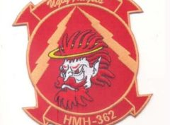 HMH-362 Ugly Angels (Red) Patch – Plastic Backing