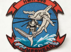 HMH-366 Hammerheads Patch – Plastic Backing