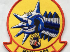 HMH-461 Ironhorse Patch – Plastic Backing
