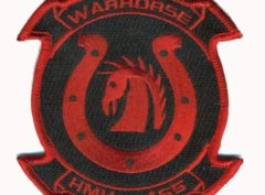 HMH-465 Warhorse Patch – Plastic Backing