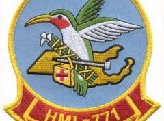 HML-771 Hummers Patch – Plastic Backing