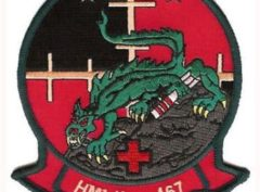 HMLA-167 Warriors Patch – Plastic Backing