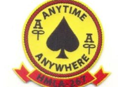 HMLA-267 Stingers Patch – Plastic Backing