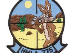 HMLA-775 Coyotes Patch – Sew On