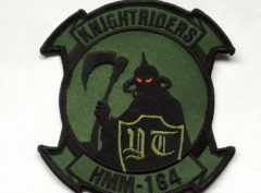 HMM-164 Flying Death Patch – Plastic Backing
