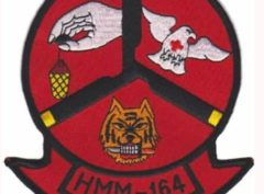 HMM-164 Flying Death Squadron Patch – Plastic Backing