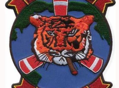 HMM-262 Flying Tigers Patch – Plastic Backing