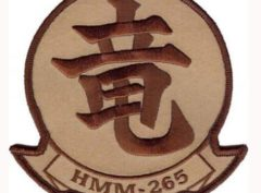 HMM-265 Dragons Patch – Plastic Backing