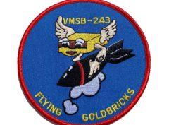 VMSB-243 Flying Goldbricks Patch