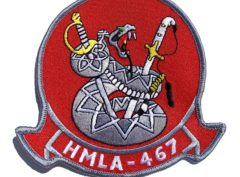 HMLA-467 Sabers Patch