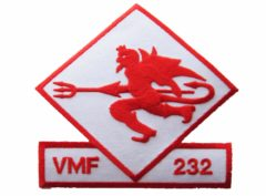 VMF-232 Red Devils Patch– Sew On