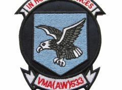 VMA (AW)-533 Nighthawks Squadron Patch – Sew on
