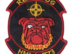HMLA-773 Red Dog Patch – Sew on