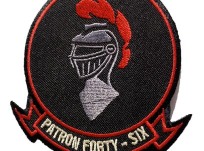 VP-46 Squadron Patch – Plastic Backing