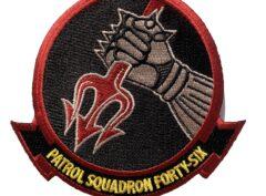 VP-46 Squadron Patch – Plastic Backing
