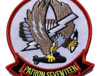 VP-17 White Lightnings Squadron Patch – Sew On