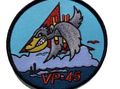 VP-45 Pelicans Squadron Patch – Plastic Backing