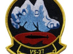 VS-37 Sawbuck Squadron Patch – Sew On