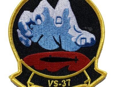 VS-37 Sawbuck Squadron Patch – Sew On