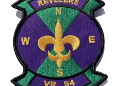 VR-54 Revelers Squadron Patch – Plastic Backing