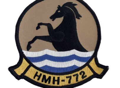 HMH-772 Hustlers Patch - Sew On