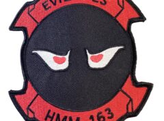 HMM-163 Evil Eyes Patch – Sew On