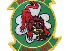 HMM-363 Red Lions Patch –Sew On