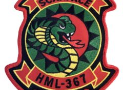 HML-367 Scarface Patch – Sew On