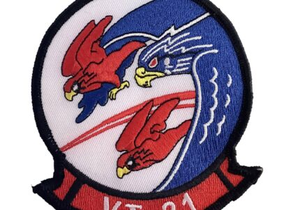 VT-21 Red Hawks Patch – Plastic Backing