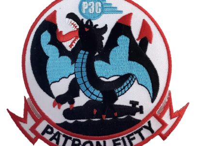 VP-50 Blue Dragons Squadron Patch – Plastic Backing