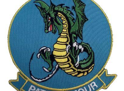 VP-4 Skinny Dragons Squadron Patch – Plastic Backing