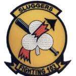 VF-103 Sluggers Squadron Patch – Sew on