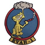 RVAH-1 Smokin Tigers Squadron Patch – Sew on