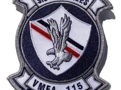 VMFA-115 Silver Eagles Squadron Patch – Sew On